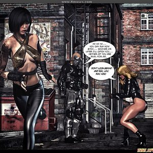Black Strix - The Black Hand of Fate - Issue 1-9 PornComix HIP Comix 096