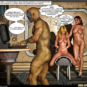 Black Strix - The Black Hand of Fate - Issue 10-16 PornComix HIP Comix 047