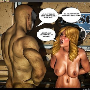 Black Strix - The Black Hand of Fate - Issue 10-16 PornComix HIP Comix 052