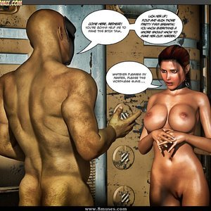 Black Strix - The Black Hand of Fate - Issue 10-16 PornComix HIP Comix 054