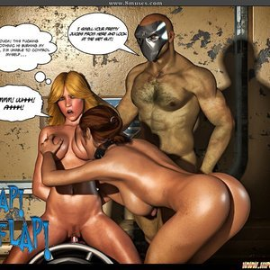 Black Strix - The Black Hand of Fate - Issue 10-16 PornComix HIP Comix 058