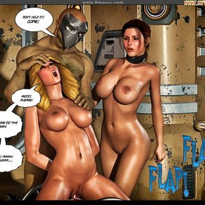 Black Strix - The Black Hand of Fate - Issue 10-16 PornComix HIP Comix 060