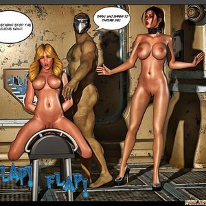 Black Strix - The Black Hand of Fate - Issue 10-16 PornComix HIP Comix 061