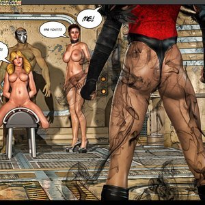 Black Strix - The Black Hand of Fate - Issue 10-16 PornComix HIP Comix 062