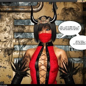Black Strix - The Black Hand of Fate - Issue 10-16 PornComix HIP Comix 063