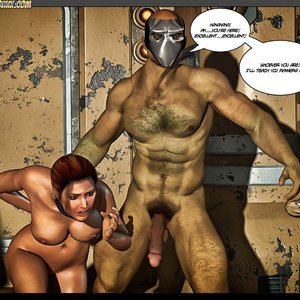 Black Strix - The Black Hand of Fate - Issue 10-16 PornComix HIP Comix 065