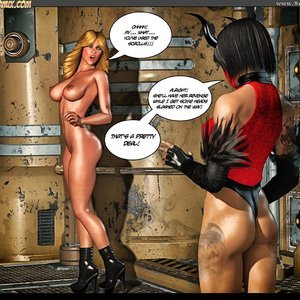 Black Strix - The Black Hand of Fate - Issue 10-16 PornComix HIP Comix 074