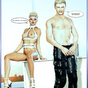 Changing of the Guard - Issue 1-17 PornComix HIP Comix 089