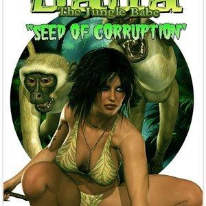 Dada - The Jungle Babe Porn Comic HIP Comix 001