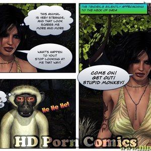 Dada - The Jungle Babe Porn Comic HIP Comix 029