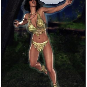 Dada - The Jungle Babe Porn Comic HIP Comix 041