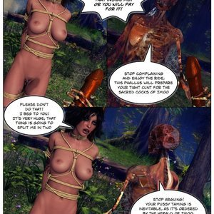 Dada - The Jungle Babe Porn Comic HIP Comix 083
