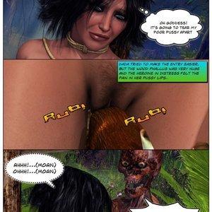 Dada - The Jungle Babe Porn Comic HIP Comix 084