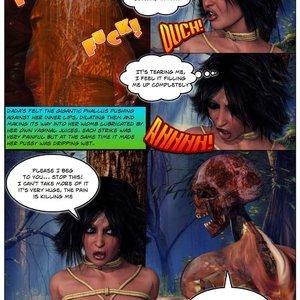 Dada - The Jungle Babe Porn Comic HIP Comix 086