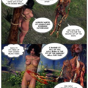 Dada - The Jungle Babe Porn Comic HIP Comix 089