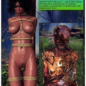 Dada - The Jungle Babe Porn Comic HIP Comix 098