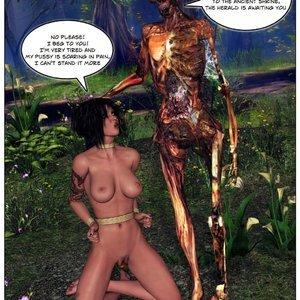 Dada - The Jungle Babe Porn Comic HIP Comix 100