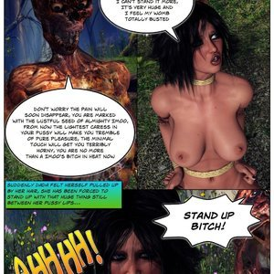 Dada - The Jungle Babe Porn Comic HIP Comix 101