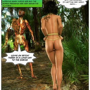 Dada - The Jungle Babe Porn Comic HIP Comix 104