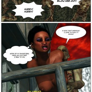 Dada - The Jungle Babe Porn Comic HIP Comix 131