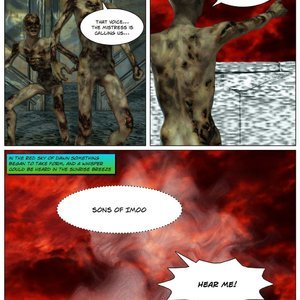 Dada - The Jungle Babe Porn Comic HIP Comix 133