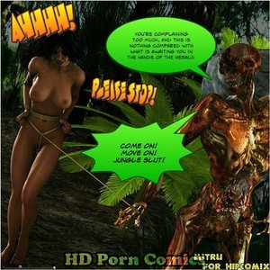 Dada - The Jungle Babe Porn Comic HIP Comix 151