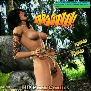 Dada - The Jungle Babe Porn Comic HIP Comix 152