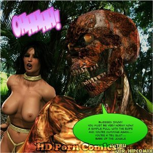 Dada - The Jungle Babe Porn Comic HIP Comix 155