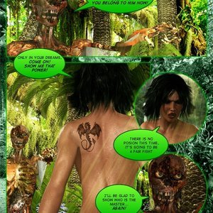 Dada - The Jungle Babe Porn Comic HIP Comix 192