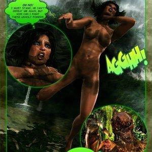 Dada - The Jungle Babe Porn Comic HIP Comix 195
