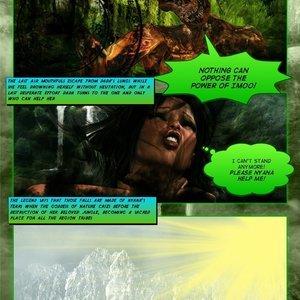 Dada - The Jungle Babe Porn Comic HIP Comix 196