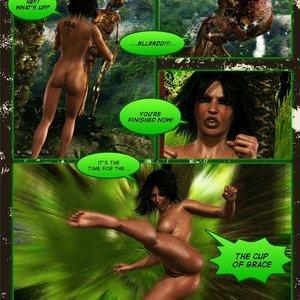 Dada - The Jungle Babe Porn Comic HIP Comix 214