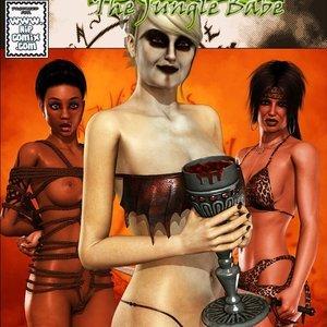 Dada - The Jungle Babe Porn Comic HIP Comix 219