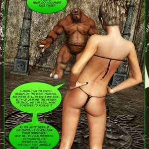 Dada - The Jungle Babe Porn Comic HIP Comix 228