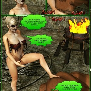 Dada - The Jungle Babe Porn Comic HIP Comix 243