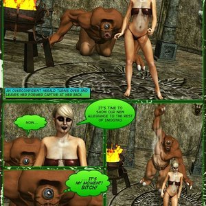 Dada - The Jungle Babe Porn Comic HIP Comix 244