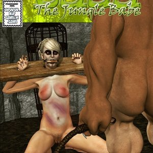 Dada - The Jungle Babe Porn Comic HIP Comix 247