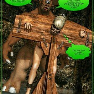 Dada - The Jungle Babe Porn Comic HIP Comix 262