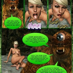 Dada - The Jungle Babe Porn Comic HIP Comix 280