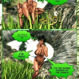 Dada - The Jungle Babe Porn Comic HIP Comix 285