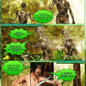 Dada - The Jungle Babe Porn Comic HIP Comix 289