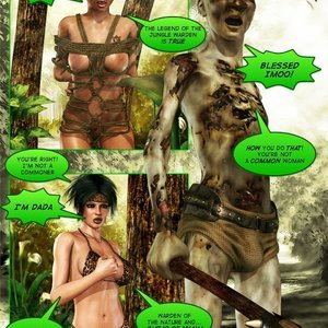 Dada - The Jungle Babe Porn Comic HIP Comix 291