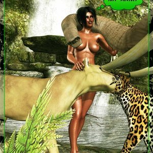 Dada - The Jungle Babe Porn Comic
