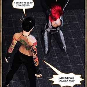Hip Gals - Black Lotus - Issue 1-6 PornComix HIP Comix 012