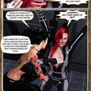 Hip Gals - Black Lotus - Issue 1-6 PornComix HIP Comix 015