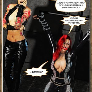 Hip Gals - Black Lotus - Issue 1-6 PornComix HIP Comix 016