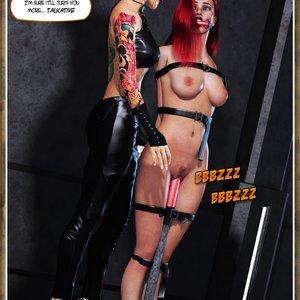 Hip Gals - Black Lotus - Issue 1-6 PornComix HIP Comix 020