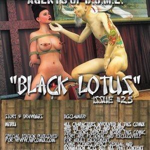 Hip Gals - Black Lotus - Issue 1-6 PornComix HIP Comix 089