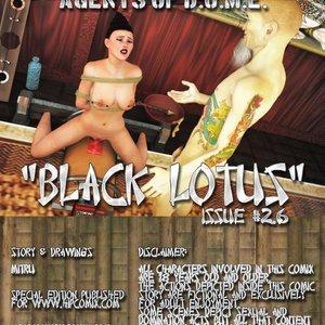 Hip Gals - Black Lotus - Issue 1-6 PornComix HIP Comix 106