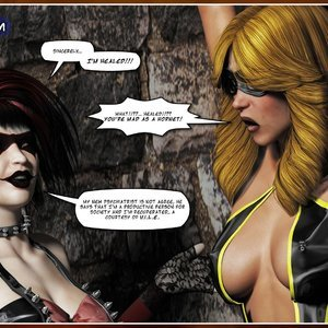 Hip Gals - Halloween Sex Kitten - Issue 1-16 Sex Comic HIP Comix 047